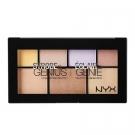 Éclair de Genie Palette Illuminatrice, NYX - Maquillage - Palette et kit de maquillage