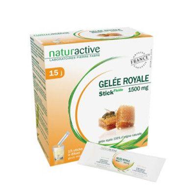 Gelée royale 1500 mg - 15 sachets de 10 ml, Naturactive - Infos et avis