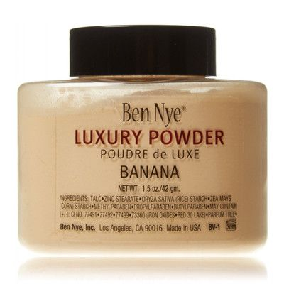 Luxury Powder Translucent - Banana, Ben Nye - Infos et avis