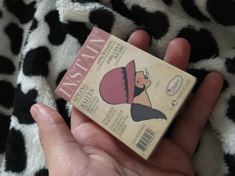 Swatch Instain Long-Wearing Powder Staining Blush, theBalm
