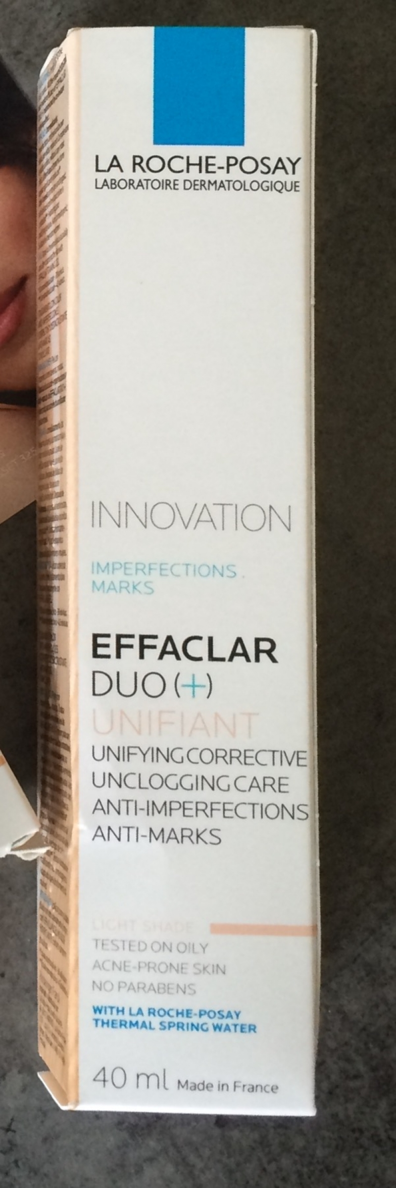 Swatch Effaclar Duo (plus) Unifiant, La Roche-Posay