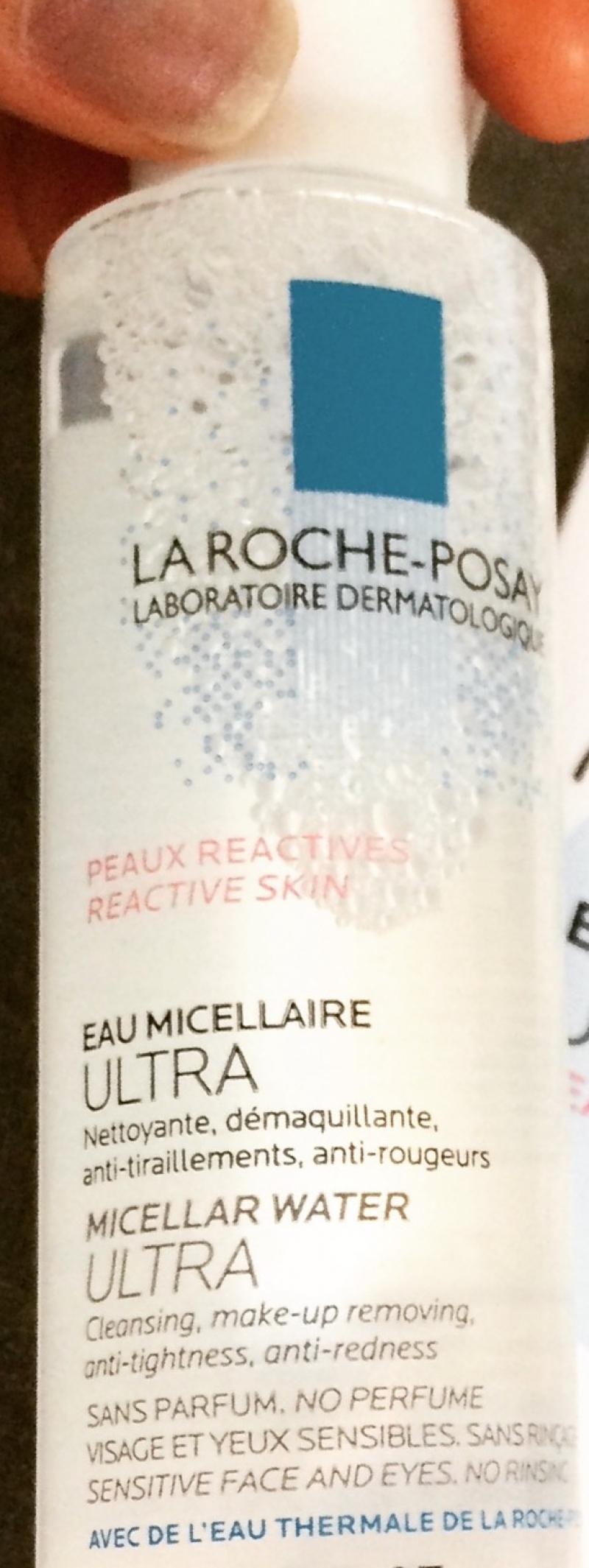 Swatch Eau micellaire ultra peaux réactives, La Roche-Posay