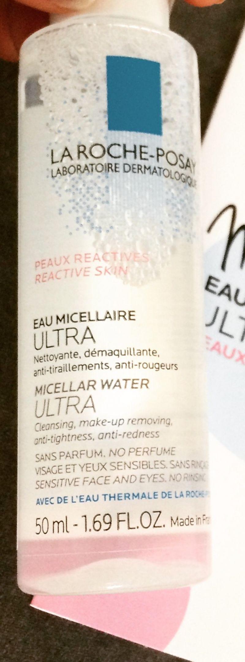 Swatch Effaclar Eau Micellaire Purifiante 200 ml, La Roche-Posay