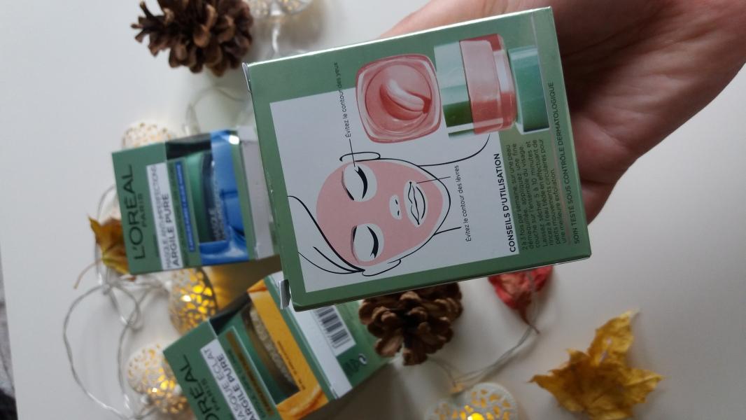 Swatch Masque Lissant Argile Pure, L'Oréal Paris