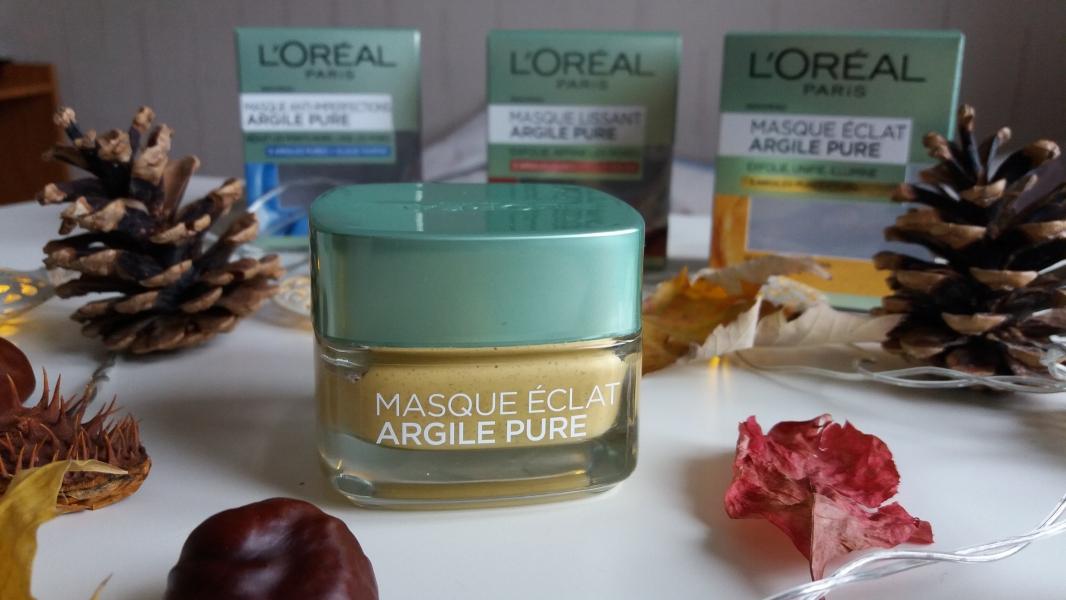 Swatch Masque Éclat Argile Pure, L'Oréal Paris
