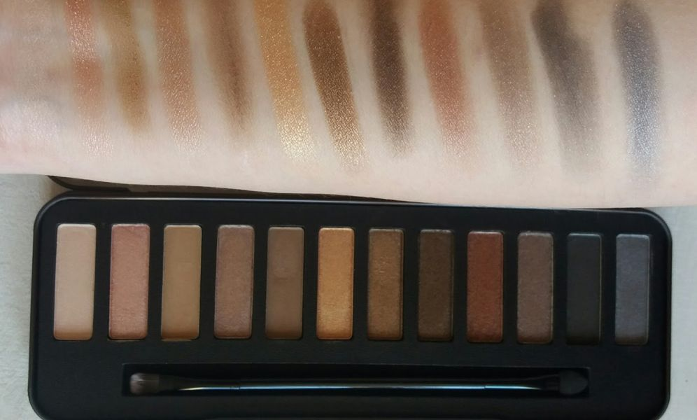 Swatch Palette Lightly Toasted, W7 Cosmetics