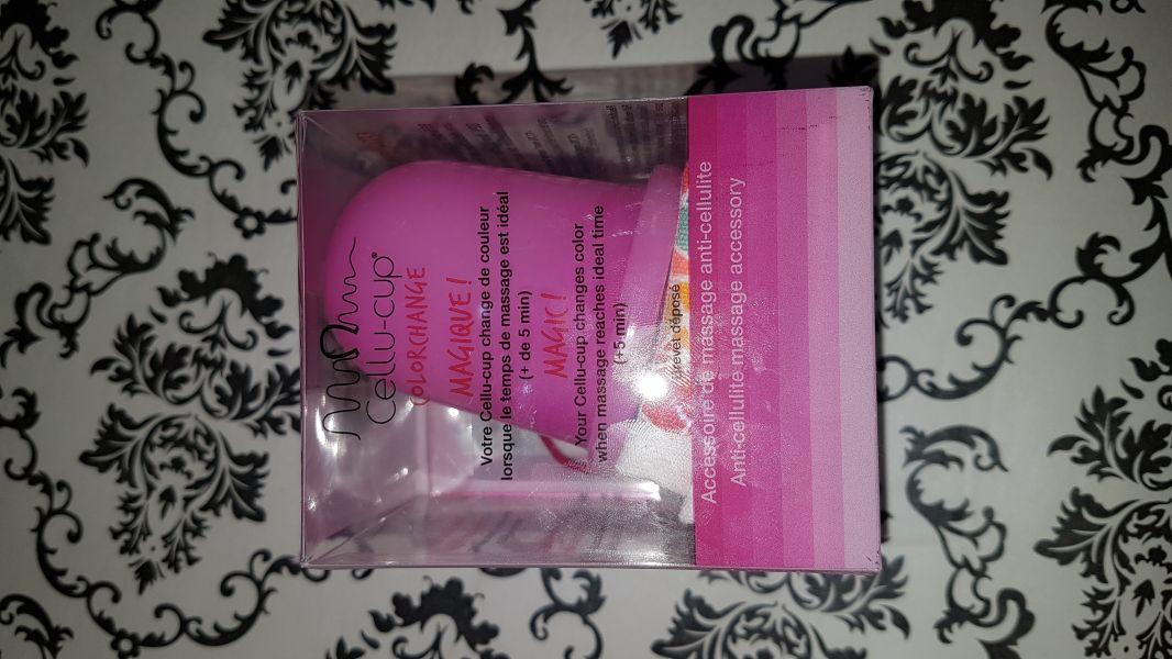 Swatch Cellu-cup - Outil de massage en silicone, Cellu-cup Colorchange