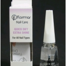 Quick dry extra shine, Flormar - Ongles - Base avant vernis