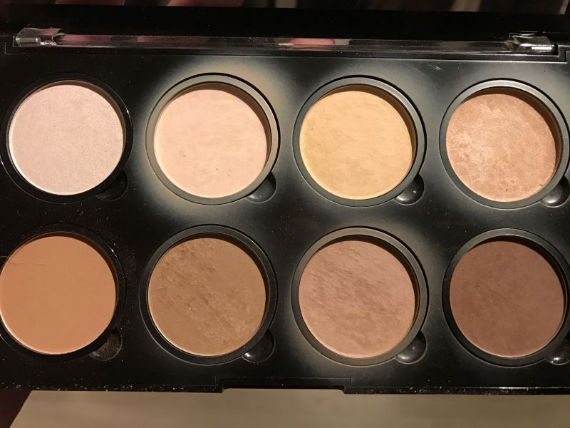 Swatch Highlight & Contour Pro Palette, NYX