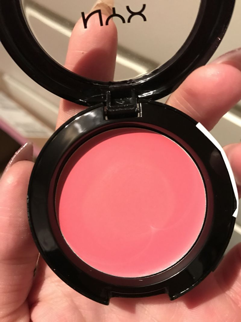 Swatch Cream Blush, NYX