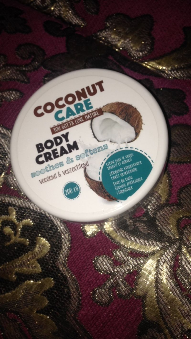 Swatch Body cream, Coconut care