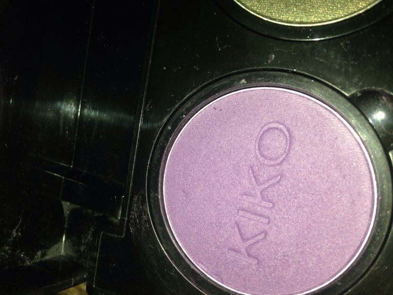 Swatch Infinity Eyeshadow, Kiko