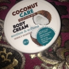 Body cream, Coconut care