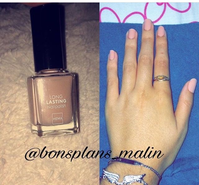 Swatch Long Lasting Nail Polish, Hema