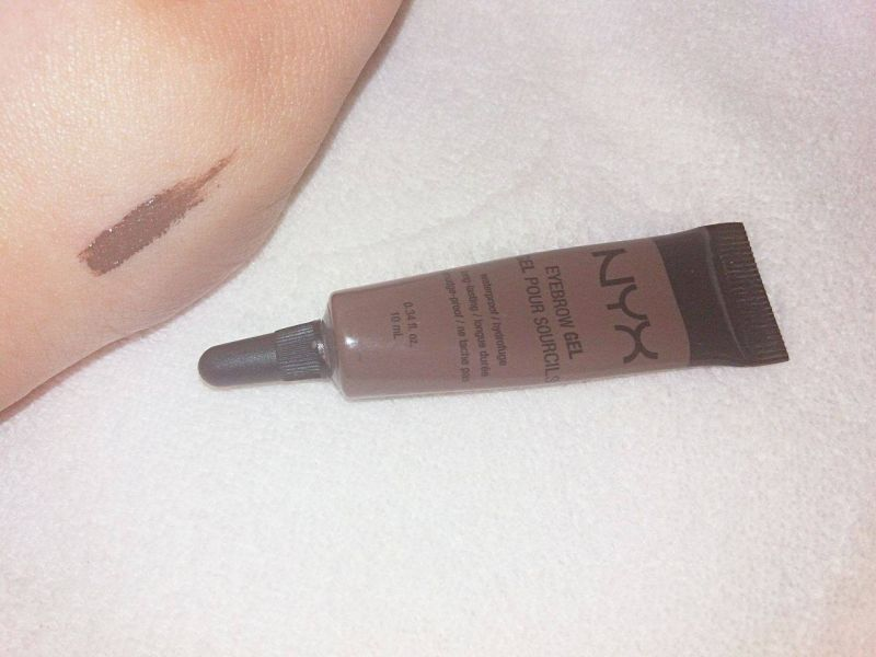Swatch Eyebrow gel, NYX