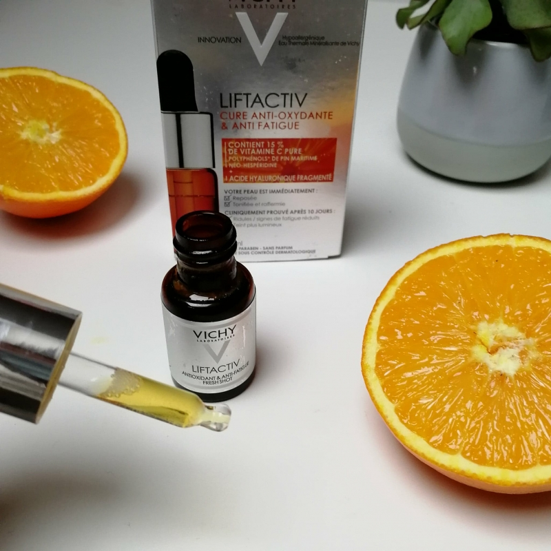 Swatch Cure anti‐oxydante et anti‐fatigue LIFTACTIV à la Vitamine C, Vichy
