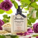 Fleur de Savon en Lait Avoine et Rose, Briochin - Soin du corps - Gel douche / bain