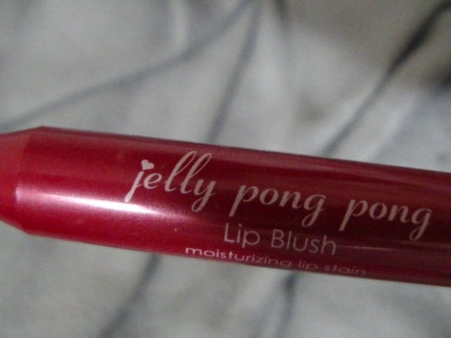 Swatch Lip blush, Jelly Pong Pong