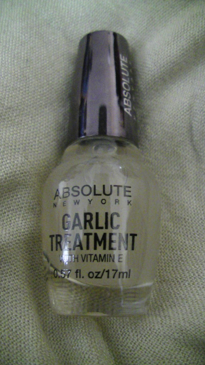 Swatch Garlic - Nail Treatment, Absolute New York