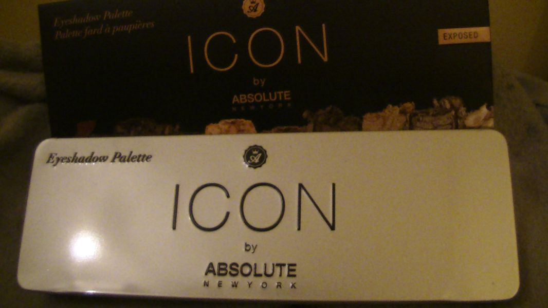Icon eyeshadow palette, Absolute New York - Infos et avis