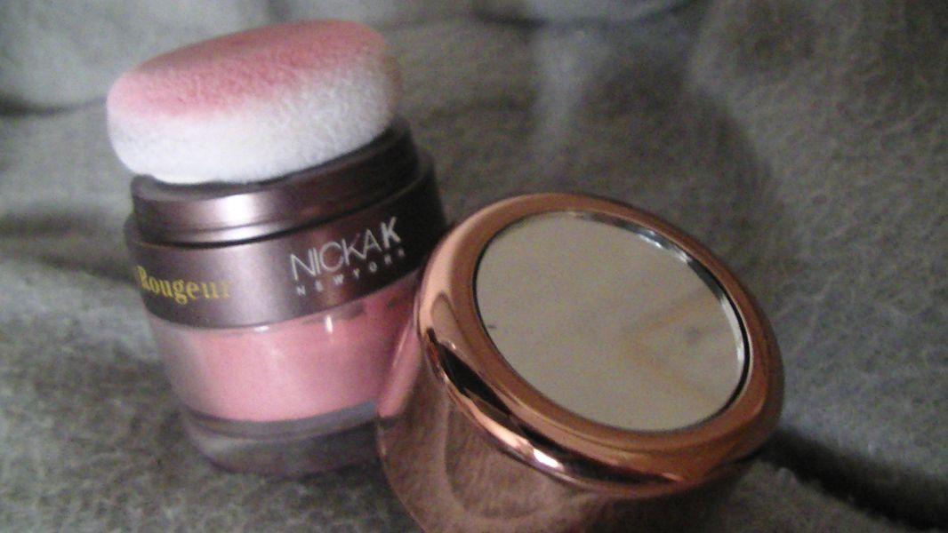 Swatch Blush/rougeur, Nicka K New York