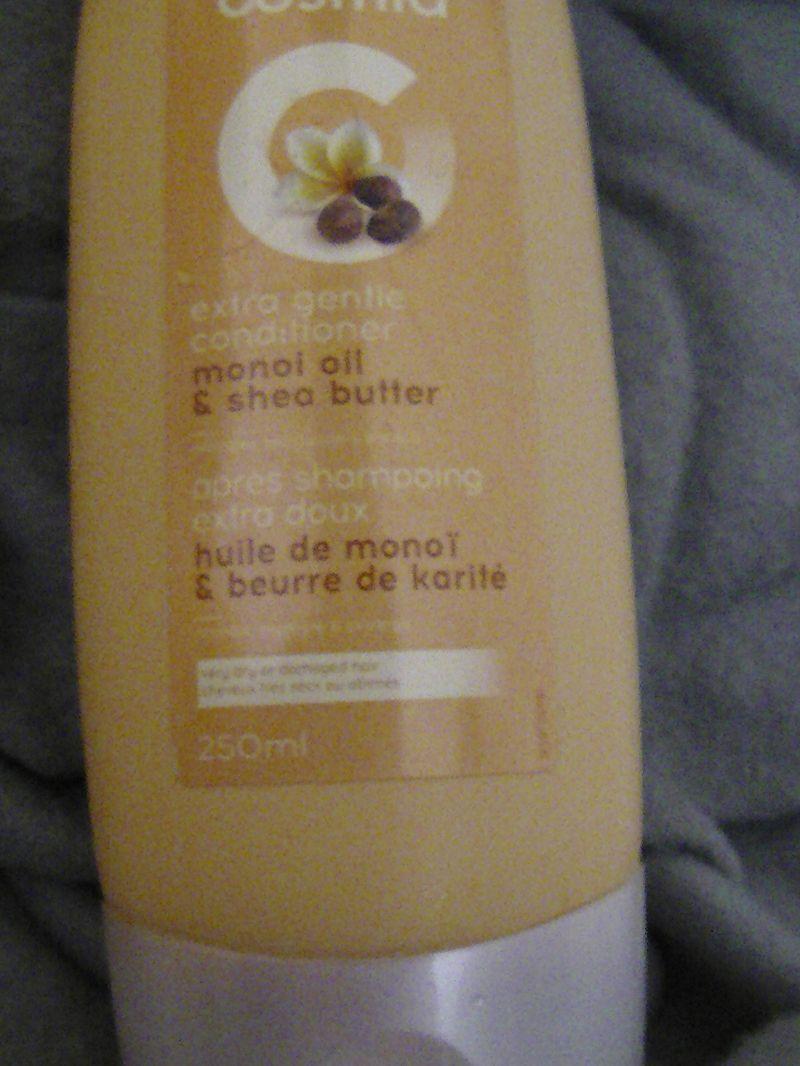 Après-shampoing extra doux huile de monoï et beurre de karité, Cosmia - Infos et avis