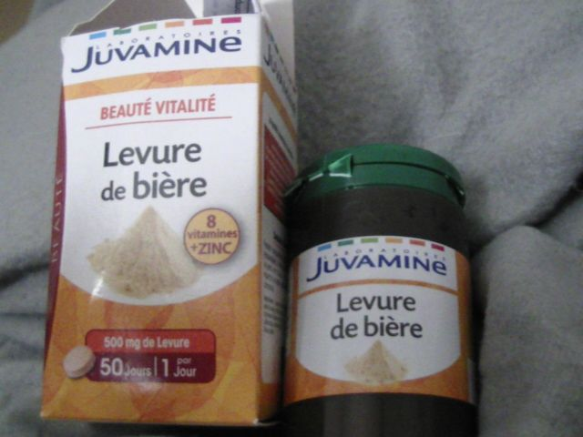 Swatch Levure de bière 8 vitamines et zinc, Laboratoires Juvamine