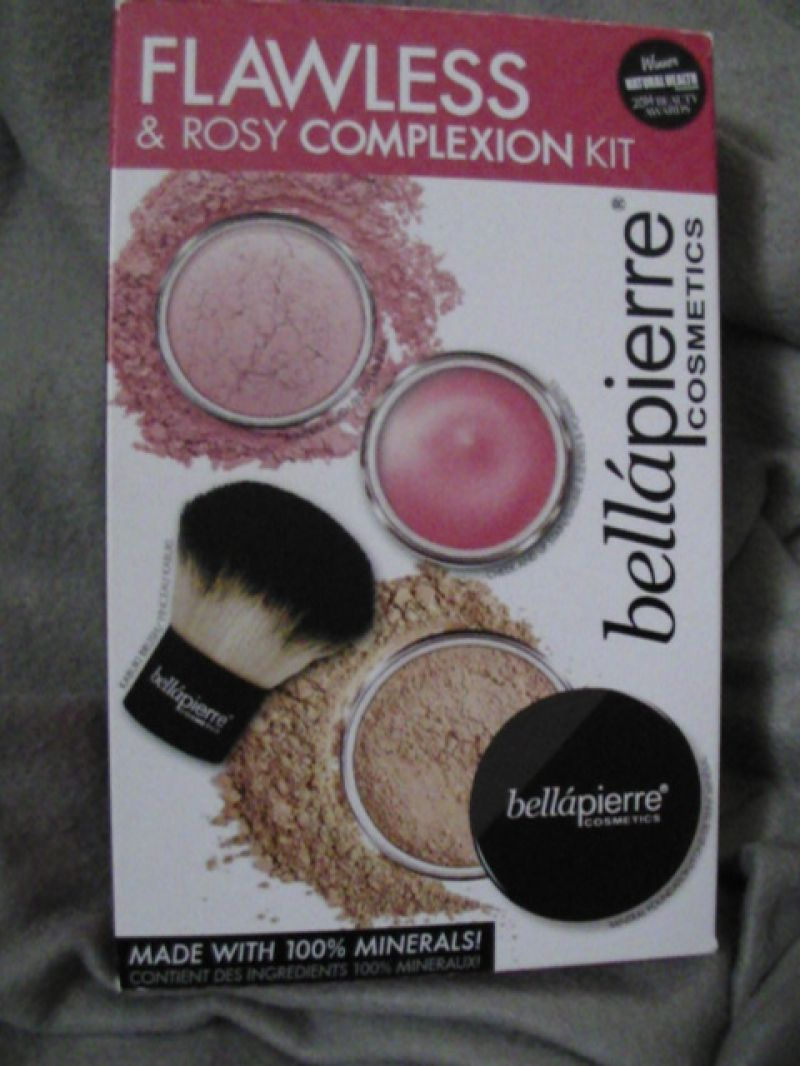 Swatch Flawless & rosy complxion kit, Bellapierre Cosmetics
