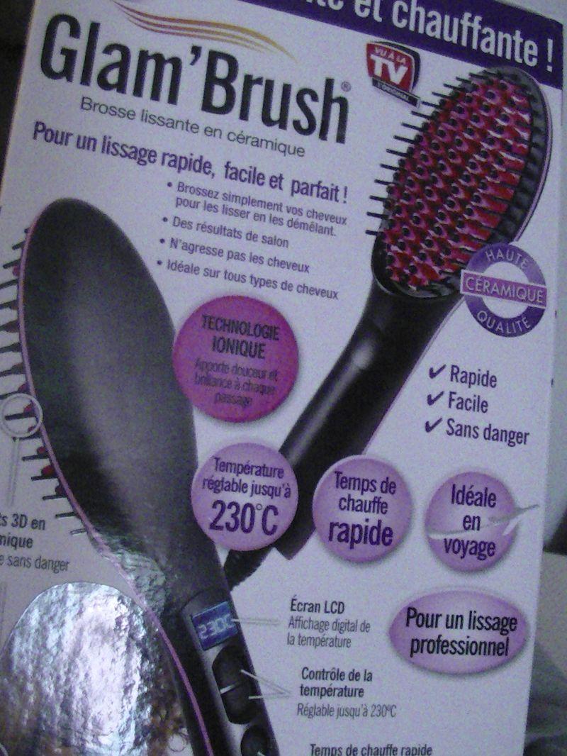 Swatch Brosse lissante en céramique, Glam Brush