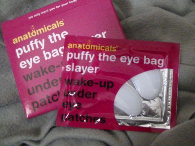 Swatch Patchs de réveil pour les yeux, Anatomicals