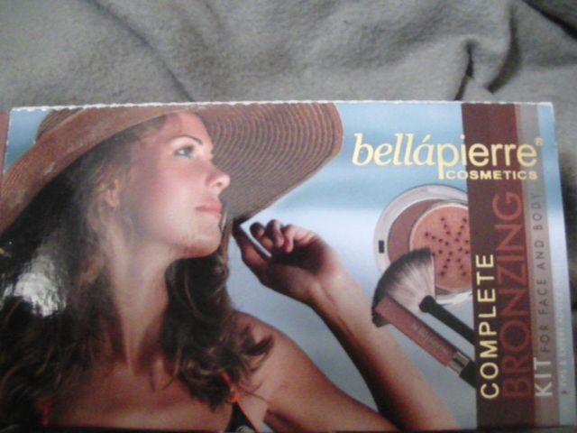 Complete bronzing kit, Bellapierre Cosmetics : OUMMMI aime !