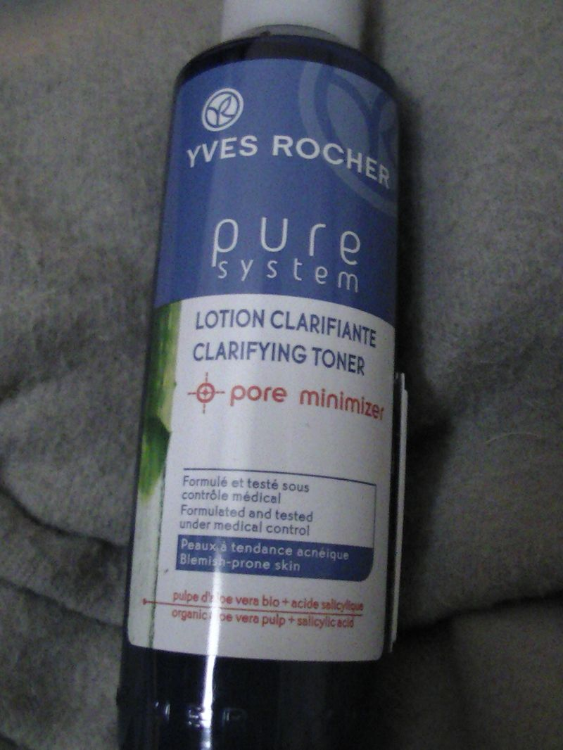 Swatch Lotion Clarifiante Pure system, Yves Rocher