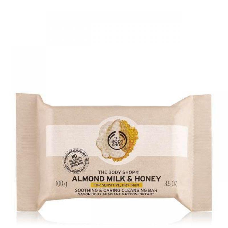 Savon Doux Apaisant et Réconfortant Almond Milk and Honey, The Body Shop - Infos et avis