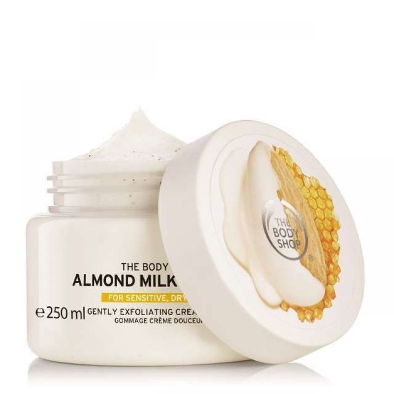 Gommage Crème Douceur Almond Milk and Honey, The Body Shop - Infos et avis