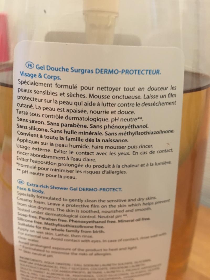 Swatch Gel douche surgras dermo-protecteur, Neutraderm