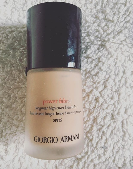 Swatch Power Fabric - Fond de Teint Longue Tenue Haute Couvrance, Giorgio Armani
