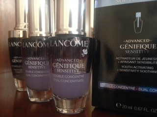 Swatch Serum Advanced Génifique Sensitive, Lancôme