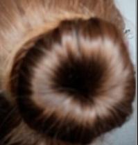 Swatch Bun pour les cheveux, Action