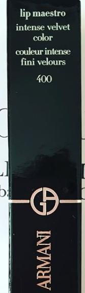 Swatch Lip Maestro, Giorgio Armani