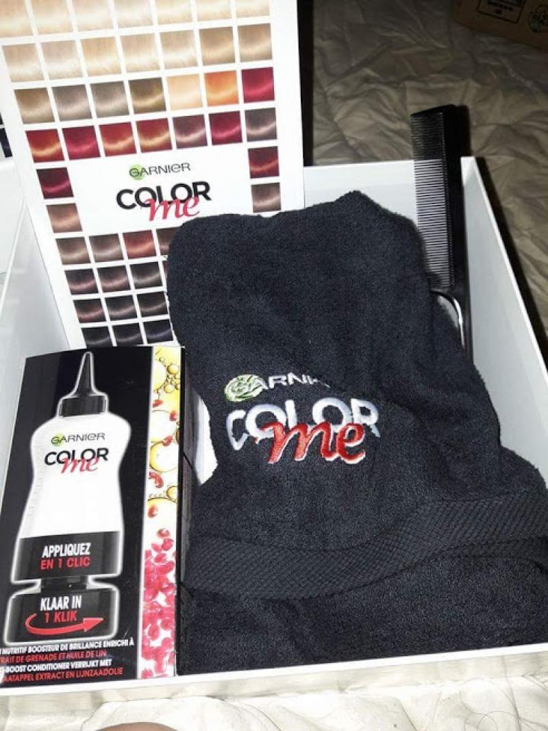 Swatch Color me, Garnier