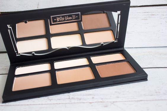 Swatch Shade Light Contour Palette - Palette contour visage, Kat Von D