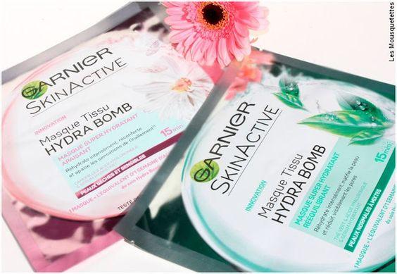 Swatch Masque SkinActive Hydra Bomb, Garnier