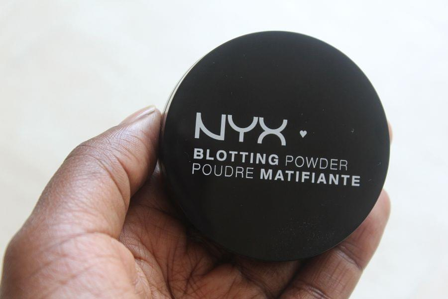 Swatch Blotting Powder Poudre Matifiante, NYX