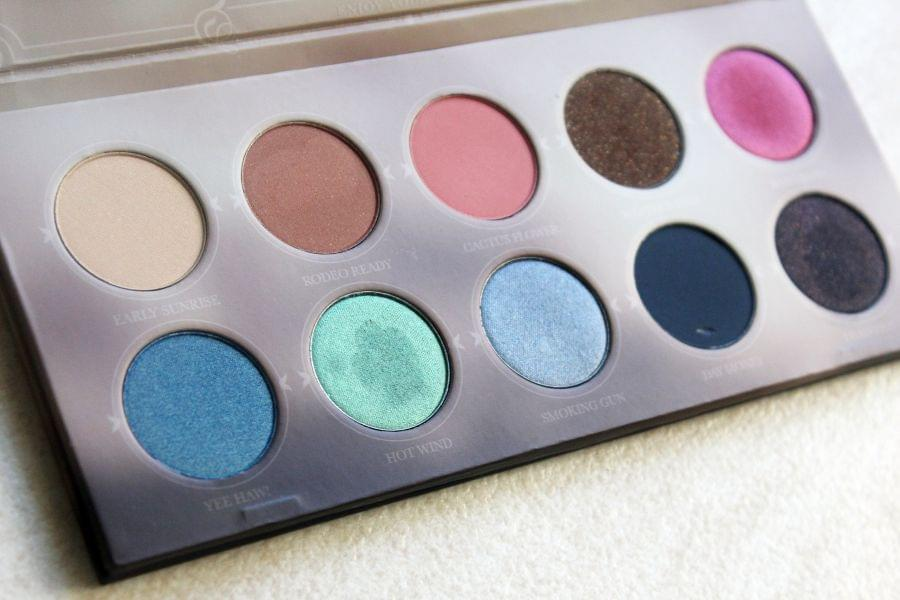 Swatch Palette Rodeo Belle, Zoeva
