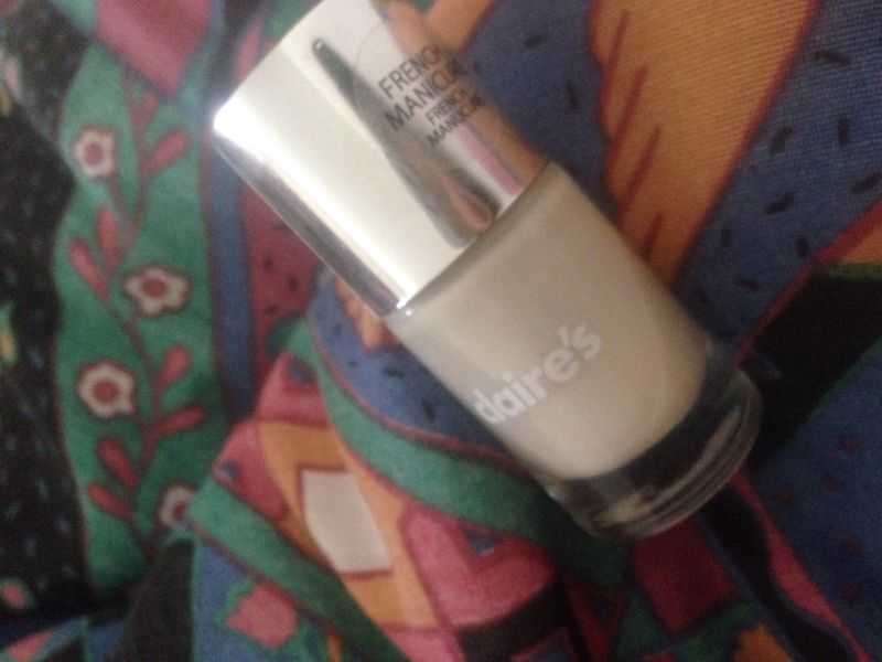 Swatch Vernis French manucure, Claire's