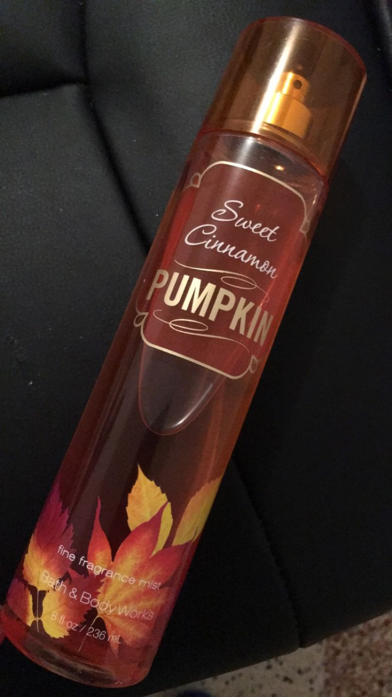 Brume corporelle pumpkin, Bath & Body Works : Fafaa aime !
