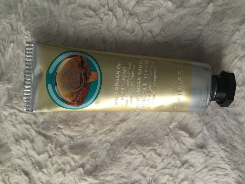 Swatch Crème pour les mains argan, The Body Shop