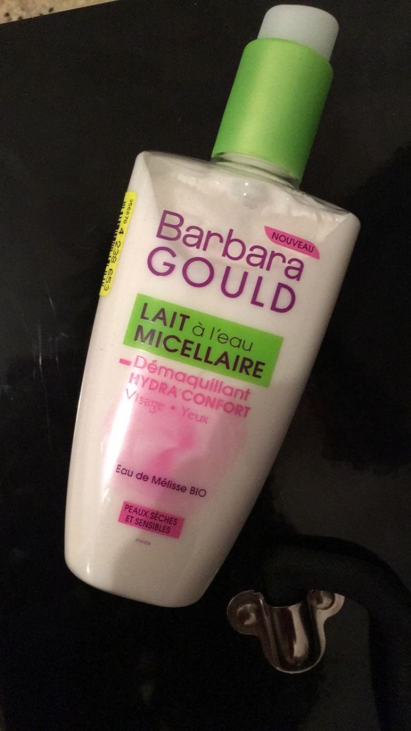 Démaquillant lait, Barbara Gould - Infos et avis