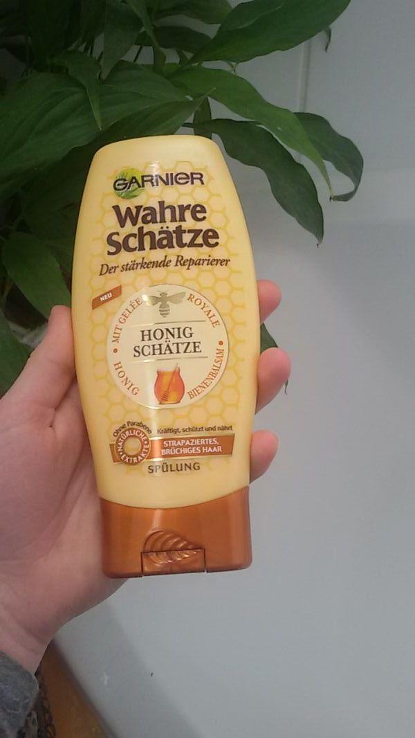 Swatch Après-shampooing Reconstituant Trésor de Miel, Garnier