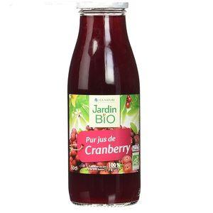 Avis Jardin Bio Pur Jus de Cranberry 500 ml - Jardin Bio